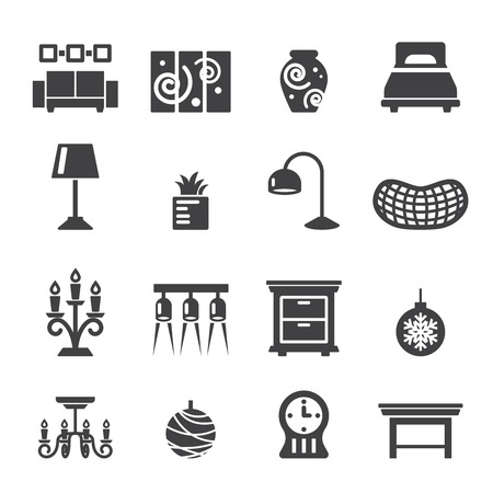 home decoration: home decoration icons