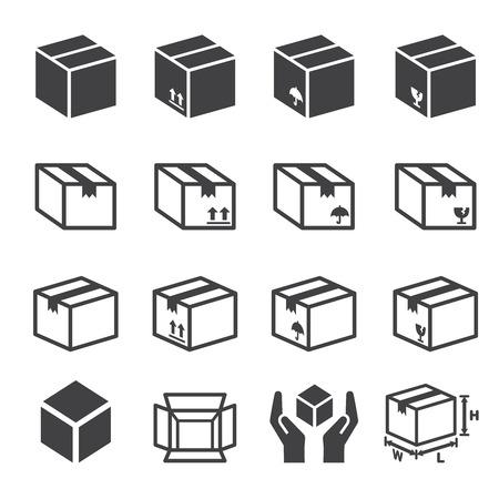 box icon: box icon set