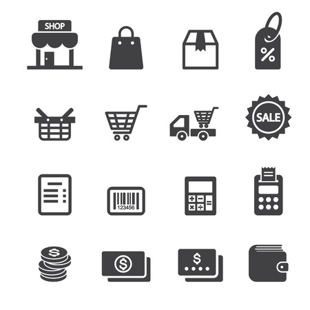 shop icon Illustration