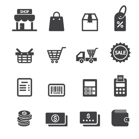 shop icon Stock Illustratie