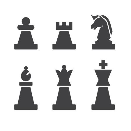 chess icon Illustration