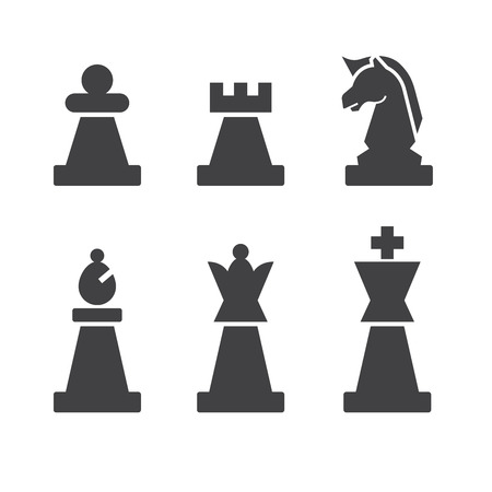 chess icon Illustration