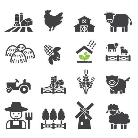 Farm Icon ??? ?? ??, ??, ??? ??? ???????. Image 45184408. - ?