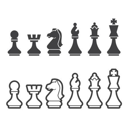 Schach-Symbol Standard-Bild - 45184411
