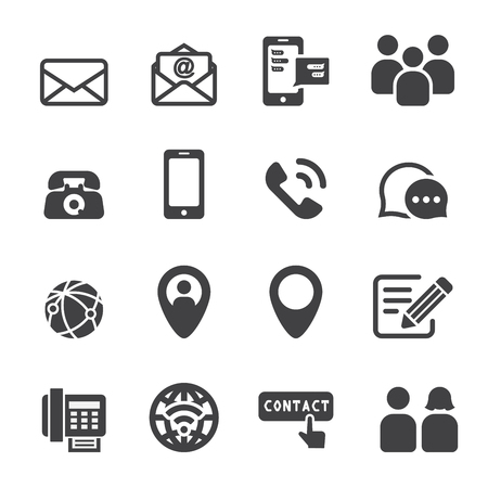 wireless icon: contact icon
