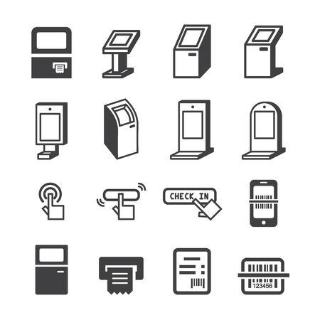 kiosk pictogram