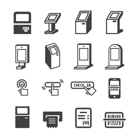 operated: kiosk icon