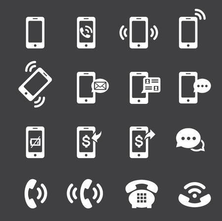 phone icon Stock Illustratie