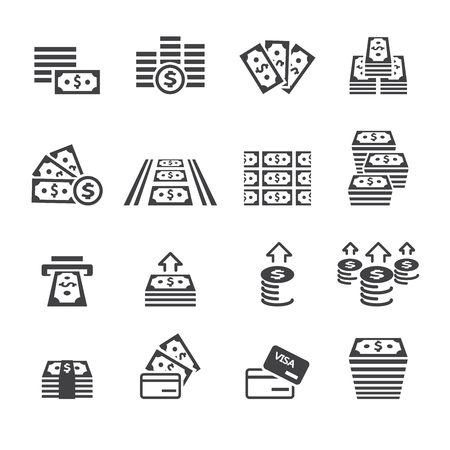 paper currency: money icon