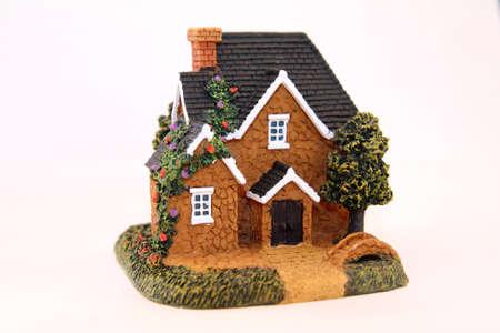 Ceramic House Stock Photo