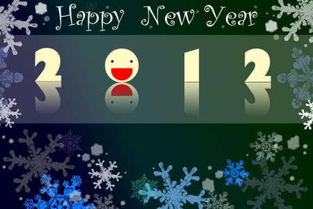Happy New Year 2012 no.4 Stock Photo - 11781213
