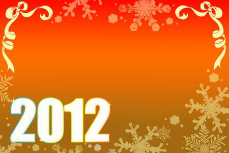 ็Happy New Year 2012 no.2 Stock Photo - 11781211