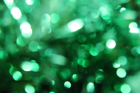 Beautiful green bokeh (small) Stock Photo - 11781350