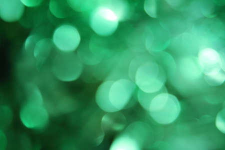 Beautiful green bokeh (large) Stock Photo - 11781337
