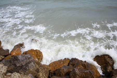 Beautiful sea surf