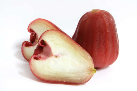 Red rose apple