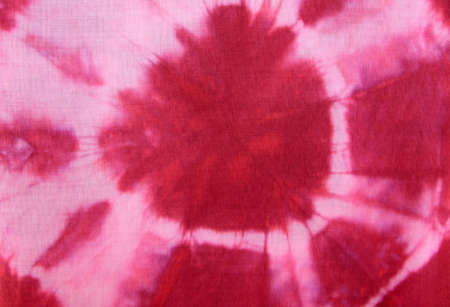 Beautiful Red Tie-dye fabric