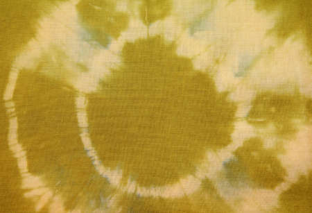 Green Tie-Dye fabric
