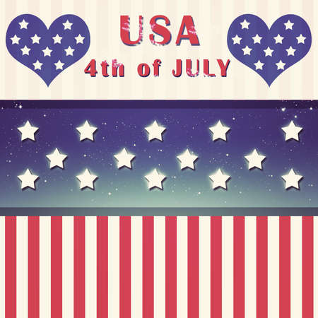 Independent day United States of America Stock Photo - 13829730