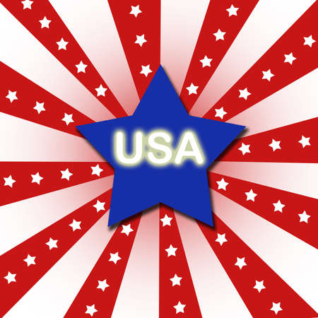 Independent day United States of America  Stock Photo - 13895564