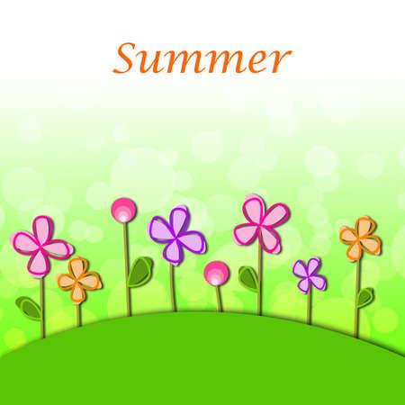 Summer season background Stock Photo - 13895567