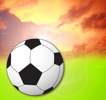 Football  Classic soccer ball