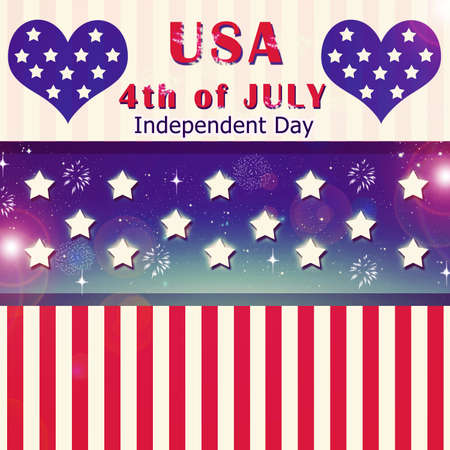 Independent day United States of America Stock Photo - 14305023