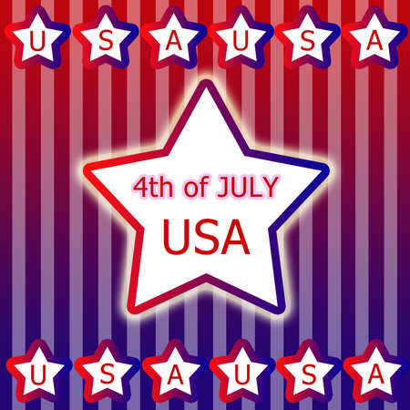 Independent day United States of America Stock Photo - 14305009