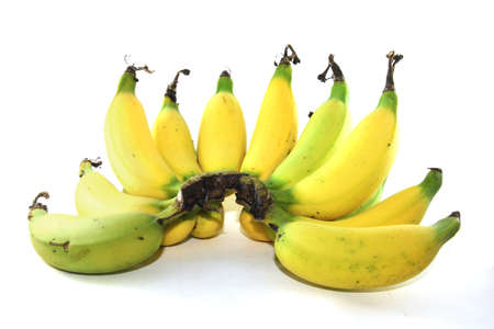 Banana on isolated background