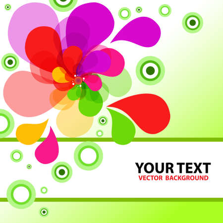 Colorful vector backgroundt  Vector illustration Stock Vector - 14996165