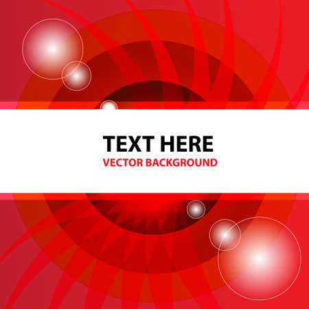 Red abstract vector background  Stock Vector - 14996195