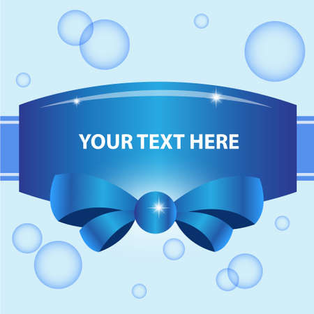 Blue abstract vector background  Vector