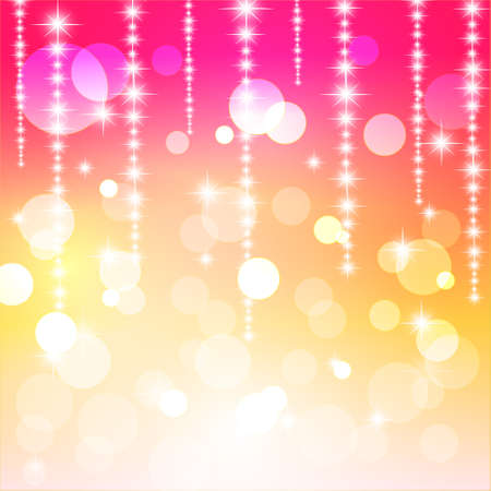 Colorful abstract background with bokeh  Vector Illustration  Stock Vector - 14996209