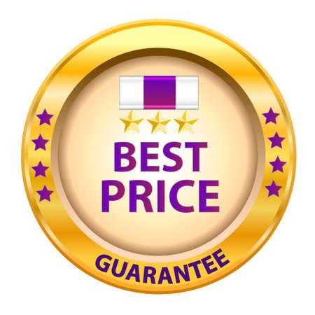 Best price guarantee logo  Vector illustration  Stock Vector - 14996214