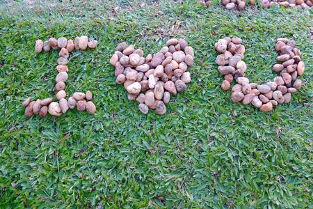 i love u: I love u : Stones design