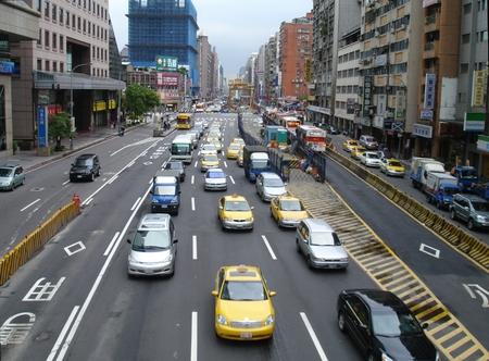 weekdays: Road in Taipei
