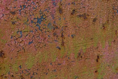 Iron surface rust photo
