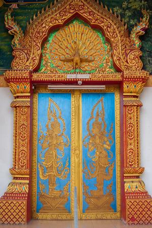 Temple gate,Thailand