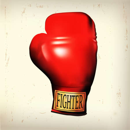 obstacle: object of a boxing glove that refer to fight against obstacle