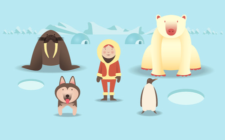 character of North Pole life