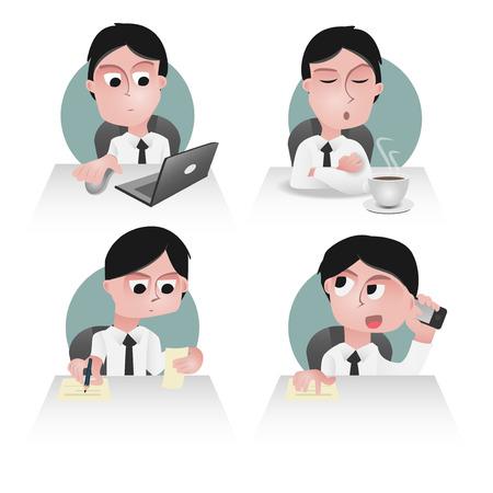 associates: character of an office worker