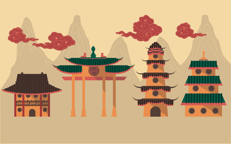 monasteries: Chinese Temples