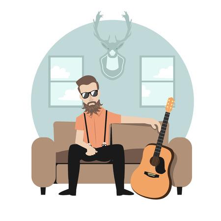 rocker: a rocker or hipster