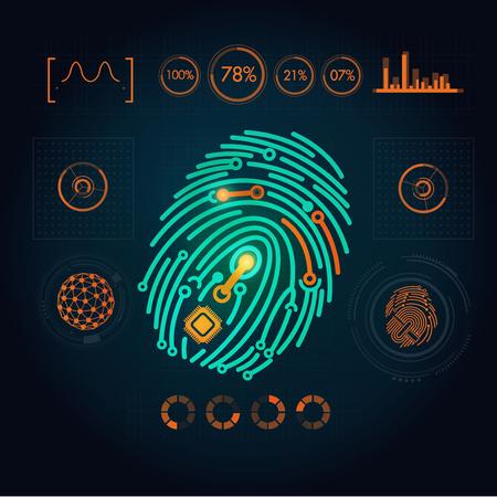 media: interface of fingerprint scanning