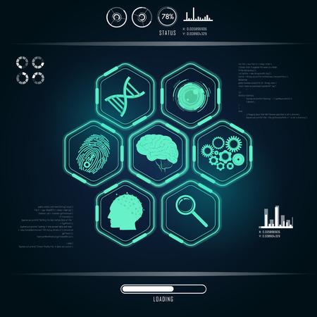 graphique de l'interface scientifique