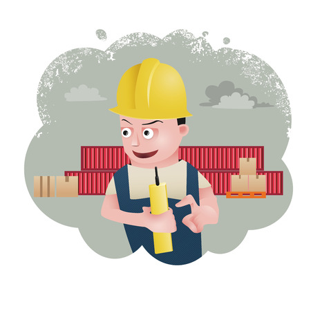 factory worker: character design, engineer vector, factory worker, vector cartoon
