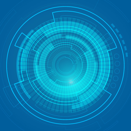 abstract digital technology, abstract futuristic background