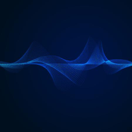 elemento de patrón de onda de sonido