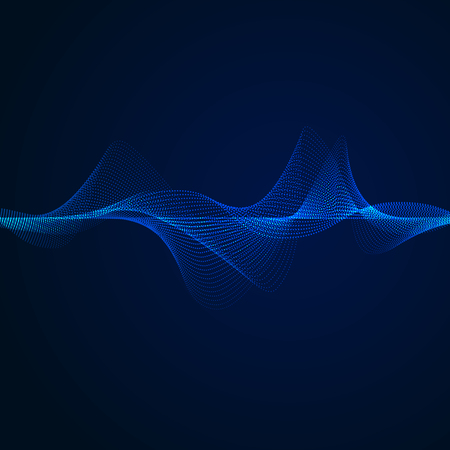 sound wave pattern element