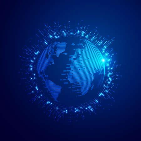 Digital transformation or global network technology